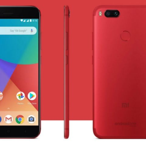pick up 33451 b9c64 Xiaomi Mi A1 Special Edition Red Colour goes on sale today via ...