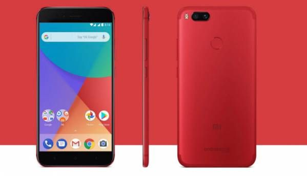 Xiaomi Mi A1 Special Edition Red colour launched at Rs 13,999