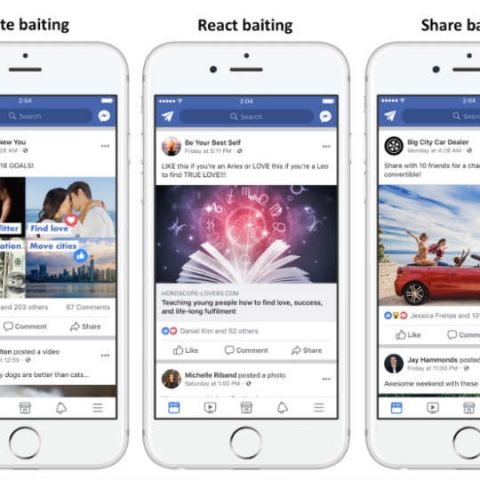 """Facebook is doubling down on """"engagement-bait"""" posts"""