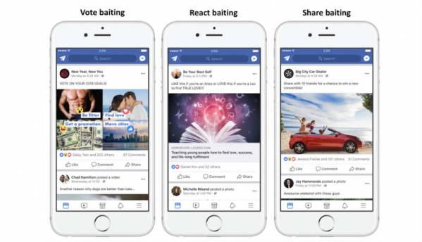 "Facebook is doubling down on ""engagement-bait"" posts"