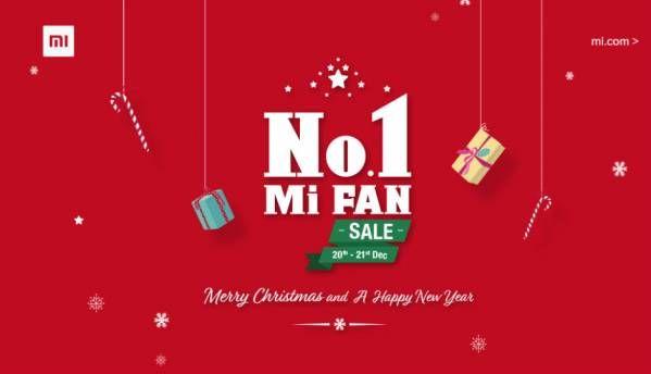 Xiaomi No. 1 Mi Fan sale on Mi.com from Dec 20 to 21: Deals on Mi A1, Redmi 5A, Redmi Y1 Lite, Mi Band HRX Edition and more