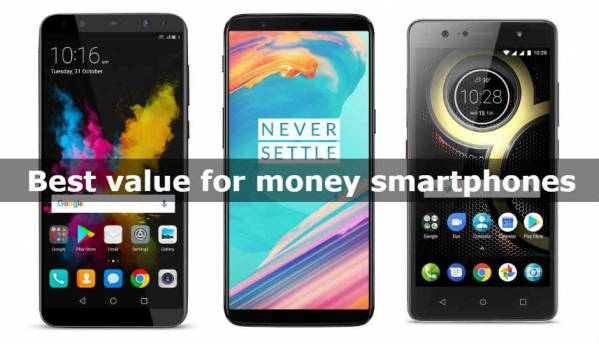 Best Value for money smartphones in all budgets