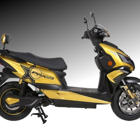 Okinawa Praise electric scooter launched at Rs. 59,889