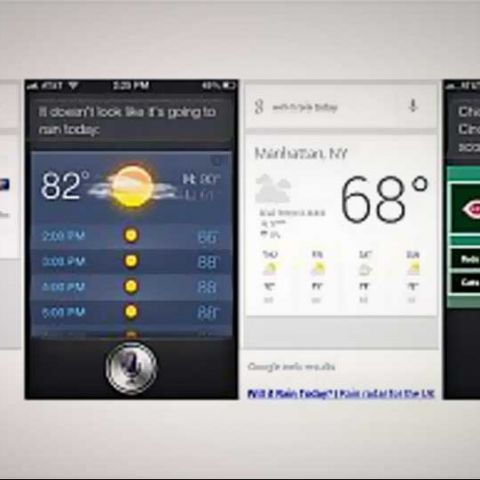 iOS 6's Siri vs. Jelly Bean's Google Now voice-recognition