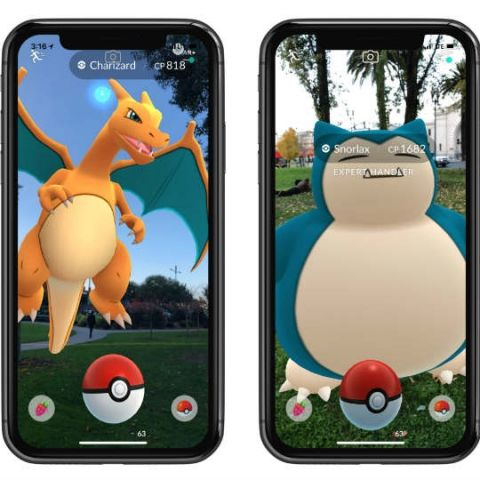Pokemon Go AR+ Mode now available on Android Smartphones With ARCore Support
