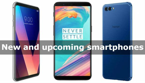 New and Upcoming phones in India (December 2017)