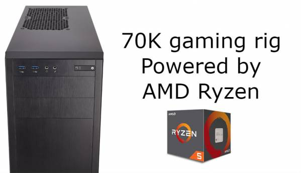 Building a budget gaming PC under 70K with AMD