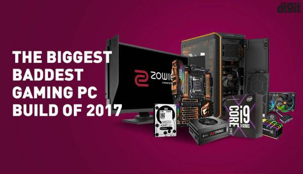 The Biggest Baddest Gaming PC build of 2017