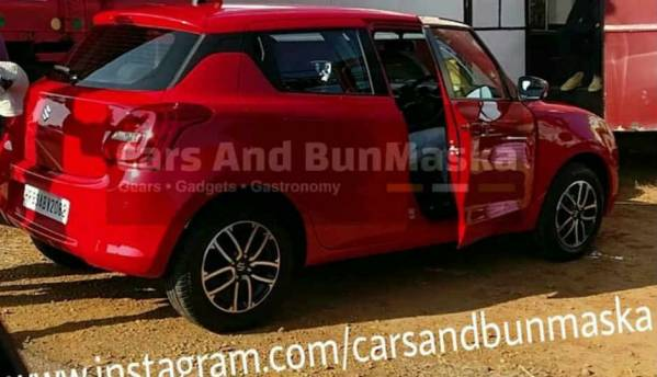 New generation Maruti Suzuki Swift spotted in India for the first time