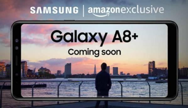 Samsung Galaxy A8+ (2018) with dual front cameras to launch in India soon, will be Amazon exclusive