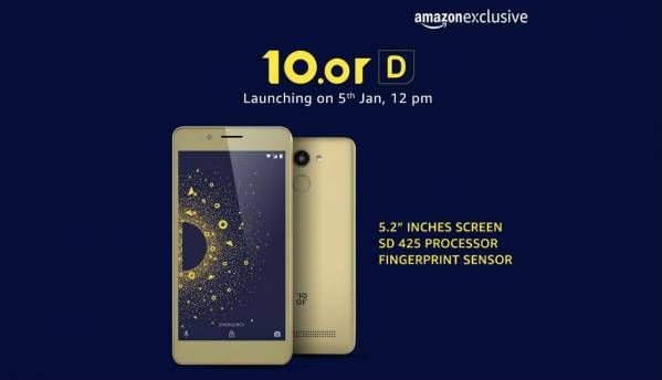 Amazon exclusive 10.or D going on sale at 12PM, prices start at Rs 4,999