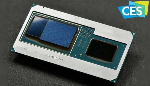 Intel unveils 8th Gen CPUs with Radeon graphics at CES 2018