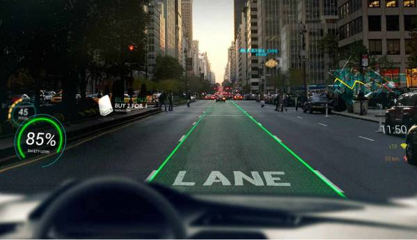 WayRay to demonstrate holographic navigation system at CES 2018