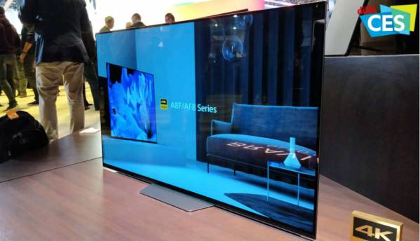CES 2018: Sony announce A8F 4K OLED and X900F LCD TVs with Dolby Vision, HDR 10, Google Assistant and Amazon Echo support