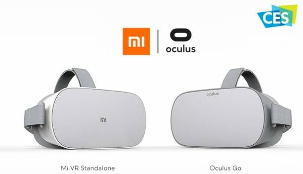 CES 2018: Oculus Go made by Xiaomi announced alongside Mi VR standalone headset