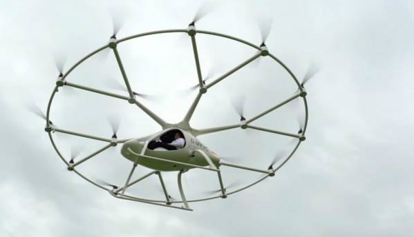 Intel-powered Volocopter air taxi demonstrates first trial flight