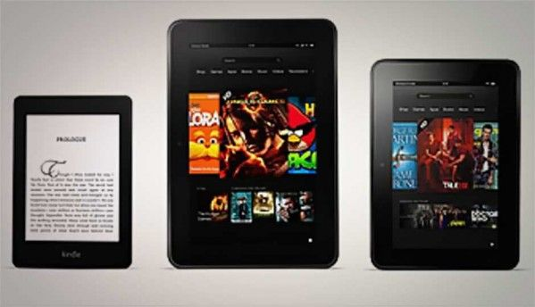 Amazon introduces two Kindle Fire HD tablets, and a new e-reader