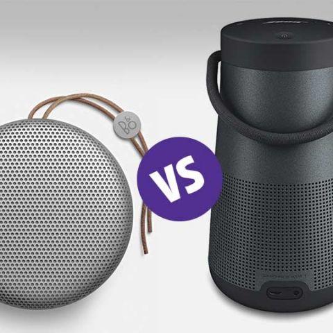 Comparison: Bose SoundLink Revolve+ vs. B&O BeoPlay A1