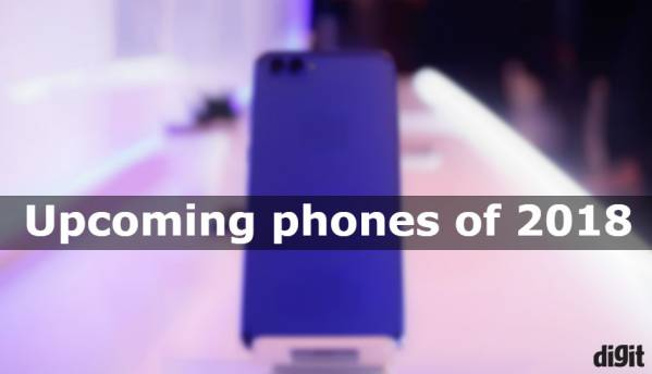 Upcoming smartphones to look forward to in 2018
