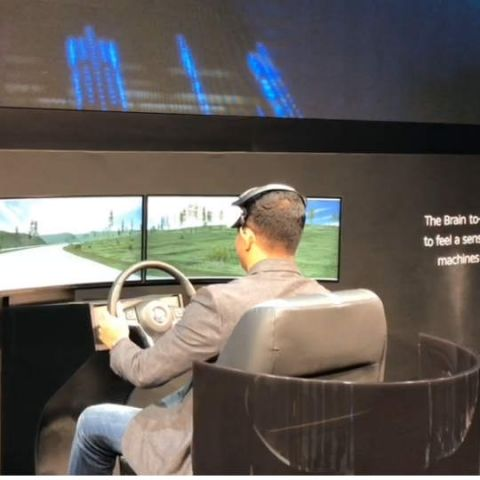 Nissan's Brain-to-Vehicle technology can predict driver actions by scanning the brain