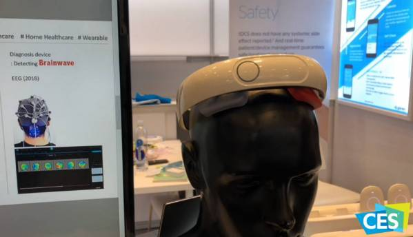 Byte Size Tech from CES 2018: Ybrain is a wearable that helps cure depression by passing electric current through the brain