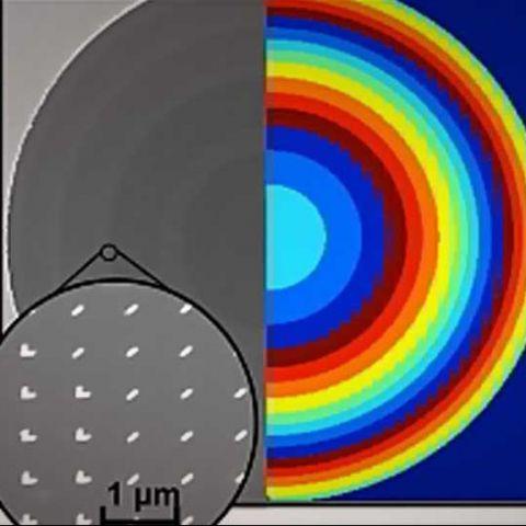 Harvard researchers develop ultrathin, distortion-free lens