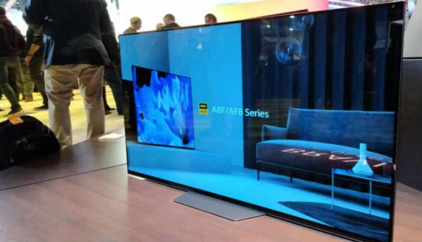 Sony's new 4K HDR TV's come with Google Assistant out of the box