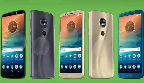 Leaked images reveal design, specs of Moto X5, Moto G6, G6 plus and G6 Play smartphones