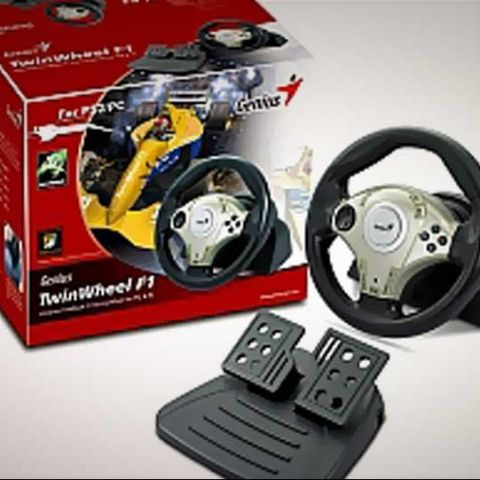 Genius Gaming TwinWheel F1 launched at Rs. 2,622 in India