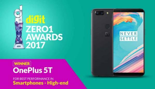 Digit Zero1 Awards 2017: Best High-End Smartphones