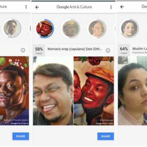 Google Arts and Culture app's selfie feature now available in India