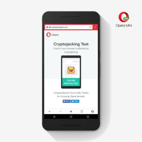 Opera adds anti-Bitcoin mining feature to mobile browsers