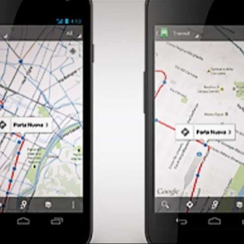 Google Maps for Android updated; charts 1mln public transit stops worldwide