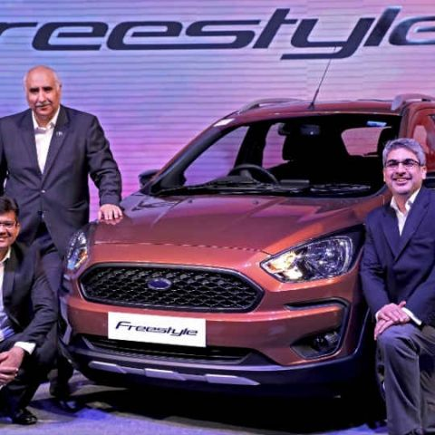 Ford Freestyle to be up for online pre-booking on Amazon India on April 14