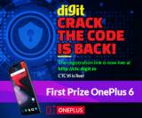 Crack The Code and Win OnePlus 6