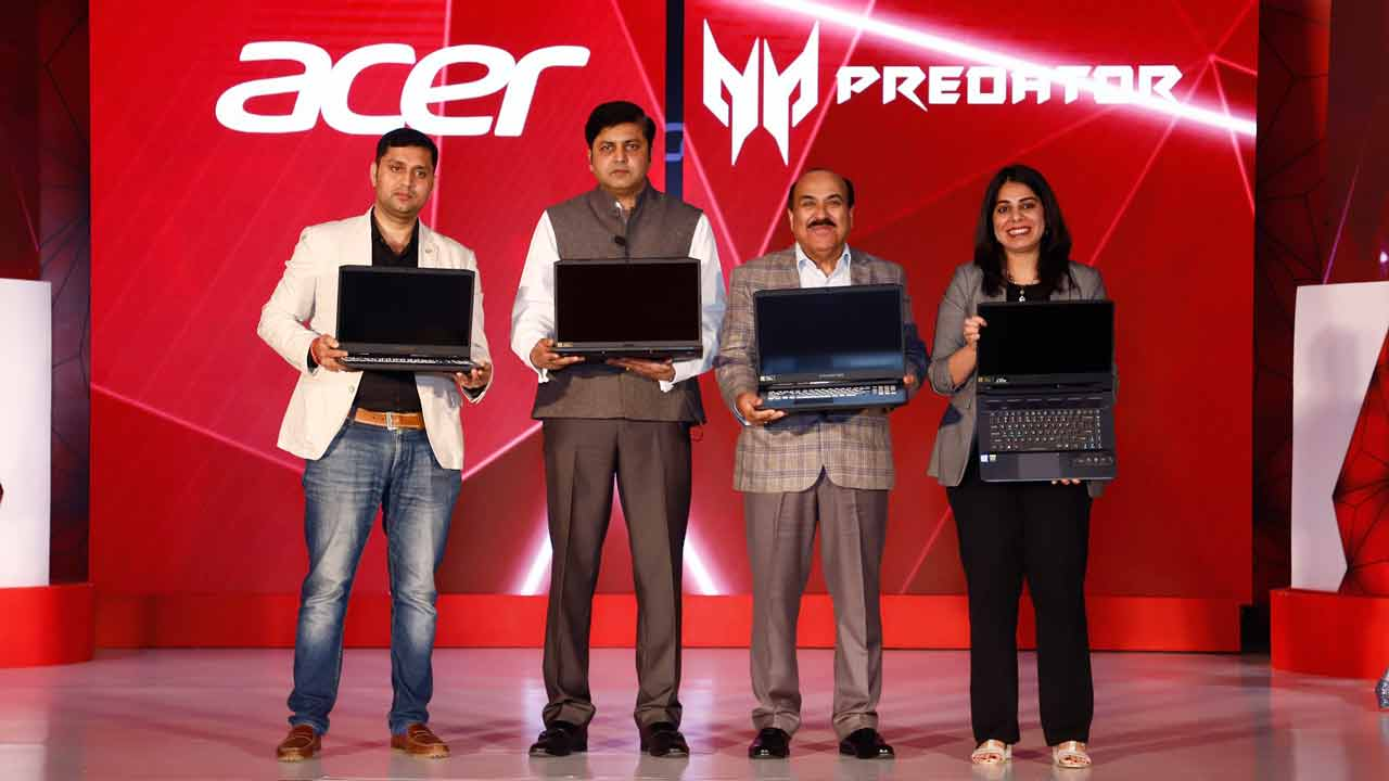 Acer refreshes lineup of gaming laptops  New Predator, Nitro
