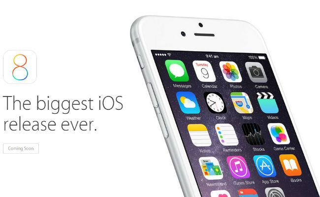 The Devices That Will Get New IOS 8 Include