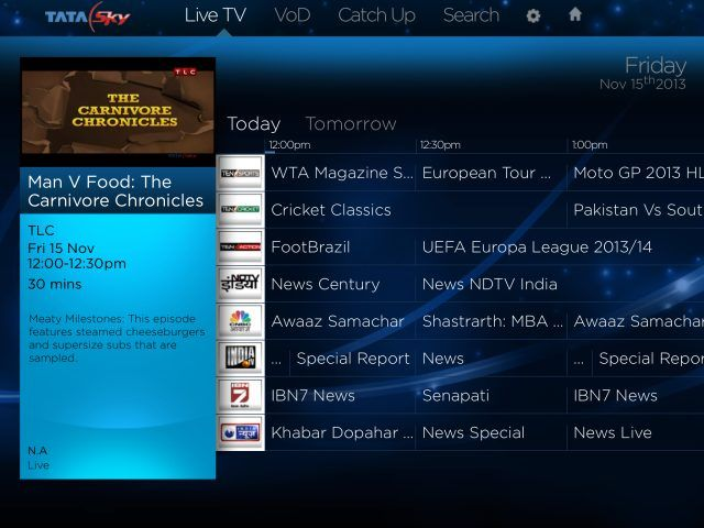 Tested: Tata Sky Everywhere TV app to stream live TV on