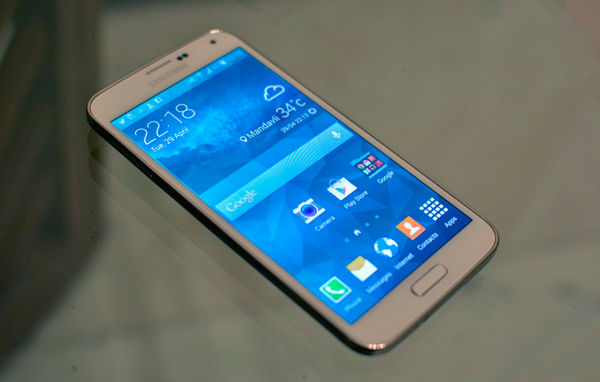 samsung galaxy s5. the galaxy s5 has a similar looking design as its predecessor and for minute you won\u0027t be able to tell difference between grand 2 samsung