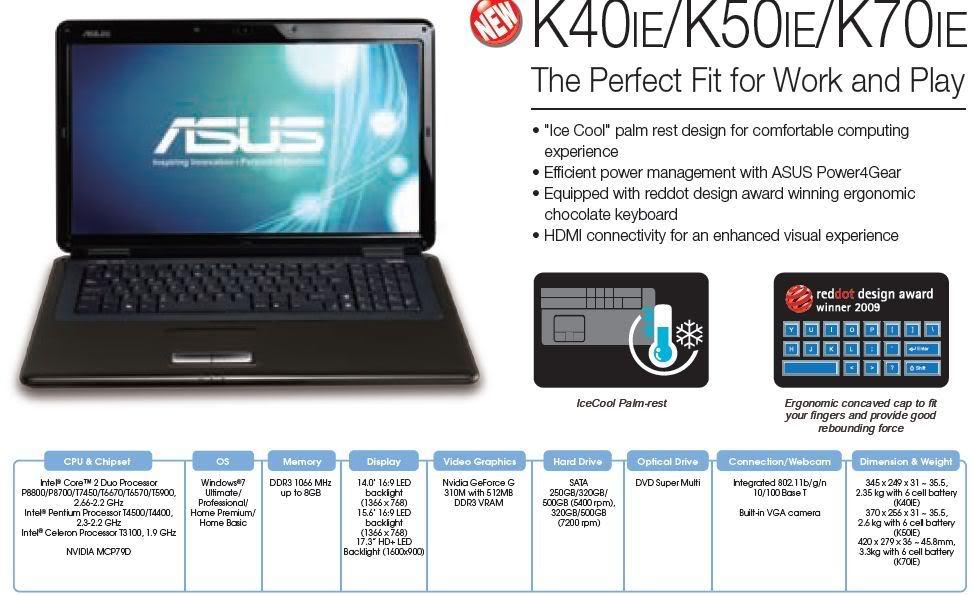 ASUS K50IE NVIDIA VGA DRIVERS FOR WINDOWS XP