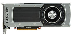 NVIDIA GTX 780 Ti Front view table
