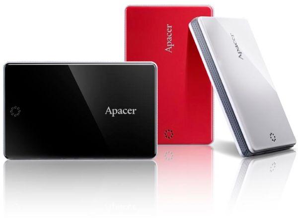 Apacer Ac203 External Hdd 500gb Sleek Trendy And