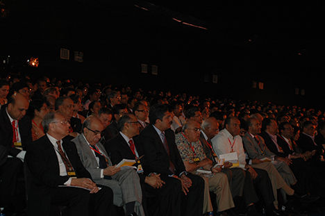 An attentive audience at the TiE Summit held in Mumbai
