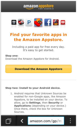 Install Android apps on your BB10 phone with Amazon App Store