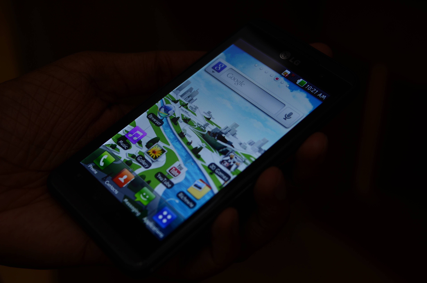 LG Optimus 3D Max Review Digitin