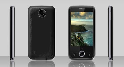 Fly LINKZ - dual-SIM, touchscreen phone for Rs 5,509