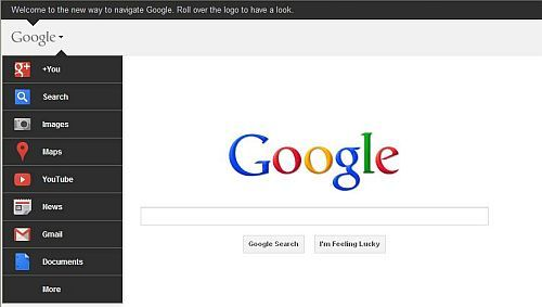 Google starts rolling out new homepage design - Google home page design ...