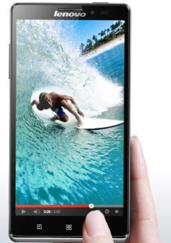 Lenovo Vibe Z with 5 5-inch HD display and 13MP camera