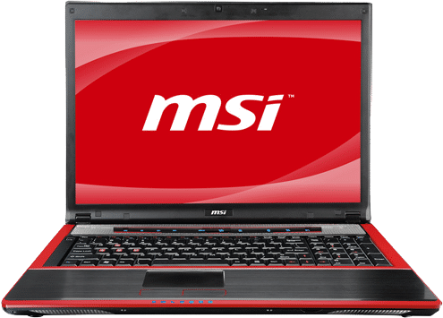 The MSI GX740 Gaming Laptop