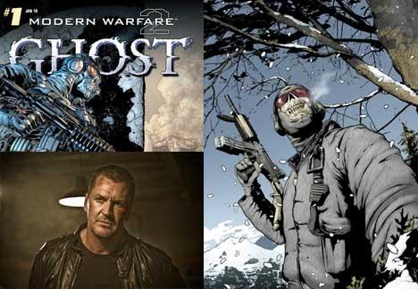 Modern Warfare 2 comic Ghost